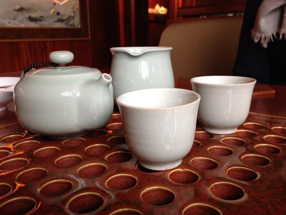 Tea with my Master Teacher of Buddhist healing