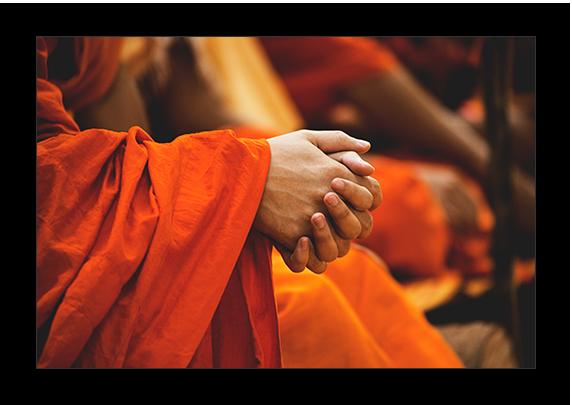 tibetan cranial therapy monks hands