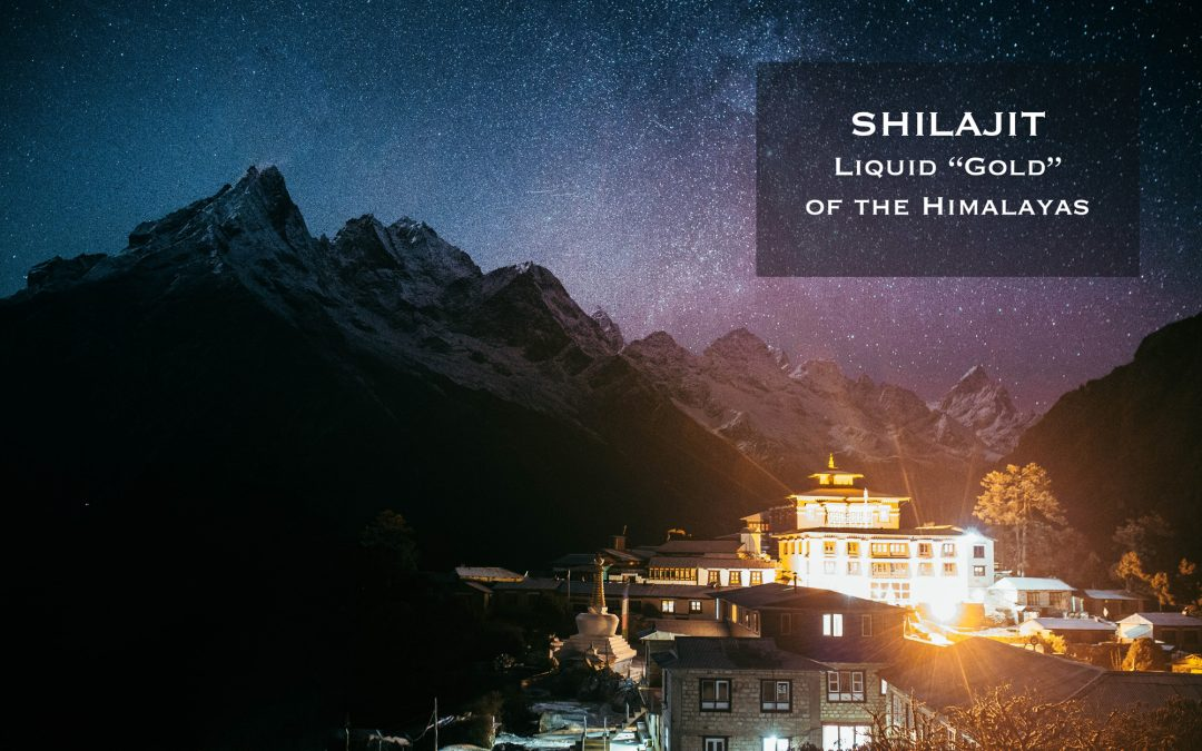 "Shilajit: Liquid ""Gold"" of the Himalayas"